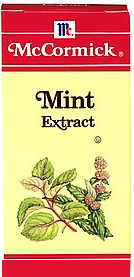 spearmint or 'spare mint' is peppermint but lightly used and with butter afoot some